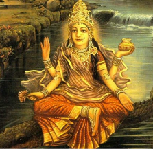 The Goddess Ganga thumbnail