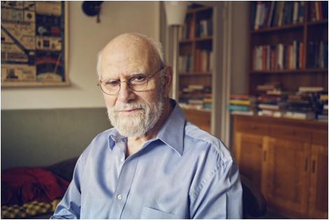 Description: Dr. Oliver Sacks at his home in 2012. (Photo by Christopher Anderson/Magnum)