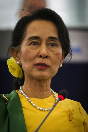 Aung San Suu Kyi, the Lady