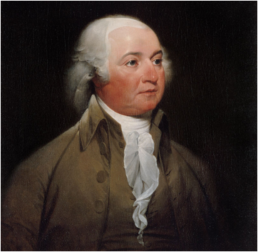 Description: Official Presidential portrait of John Adams (by John Trumbull, circa 1792).jpg