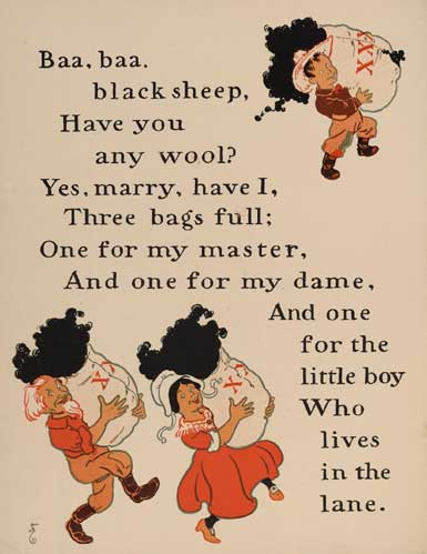 Mother Goose rhyme in the 1901 edition