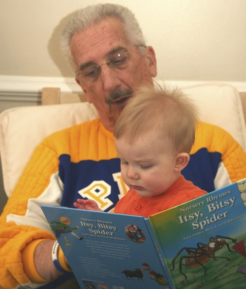 Al reading to Owen