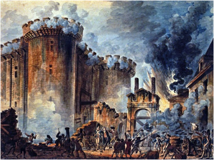 Description: The Storming of the Bastille promised both hope and despair.