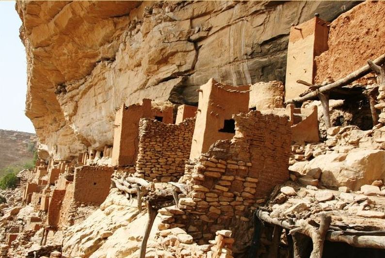 Village in Dogon Country