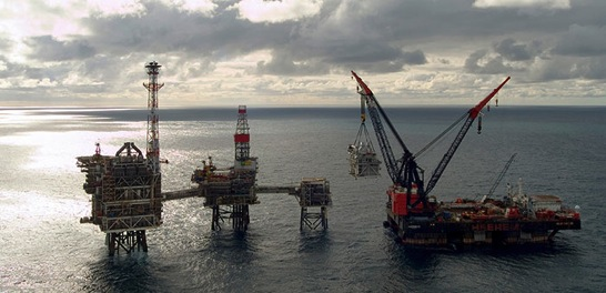 BP is also drilling for oil off the Scottish