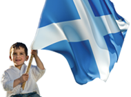 This is the Scottish National Party's logo for independence