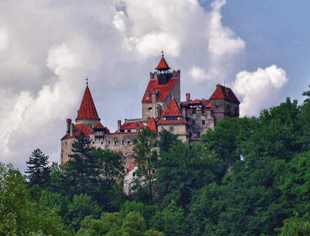 This is Bran Castle or better known as Dracula' Castle