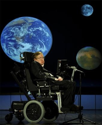 Stephen Hawking a wise and insightful genius