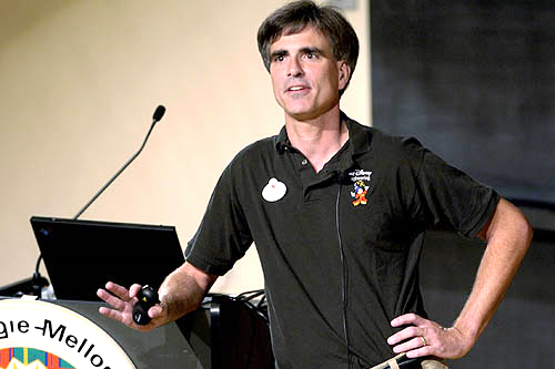 Randy Pausch and his Last Lecture