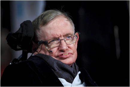 Description: Stephen Hawking (Photo by John Phillips/Getty).