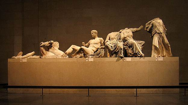A few of the Elgin Marbles