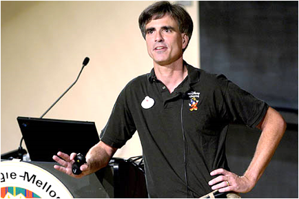 Description: Randy Pausch and his Last Lecture