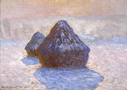 https://upload.wikimedia.org/wikipedia/commons/f/f2/Haystacks%2C_Snow_Effect_1891_Claude_Monet_NGScotland.jpg