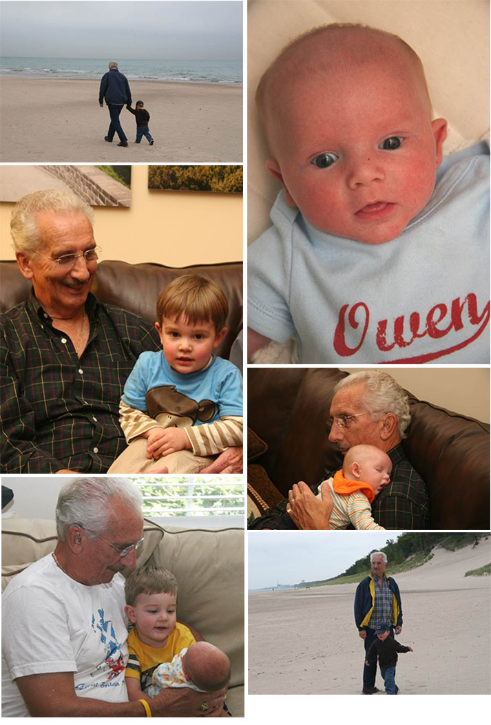 Al with grandsons