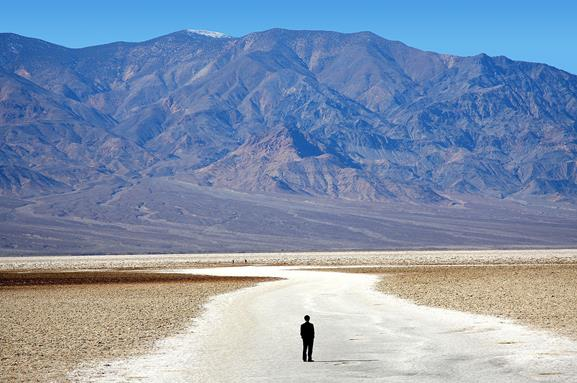 This is Badwater Basin.