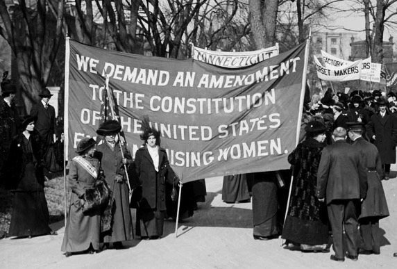 The Suffrage Movement in 1915