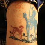 Tattoo of Pooh thumbnail