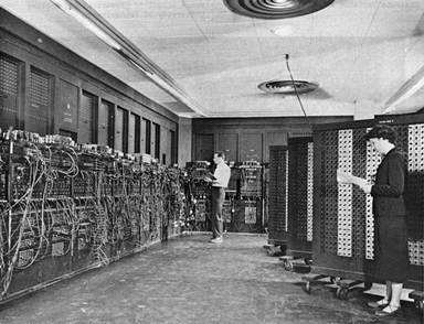 The Eniac computer