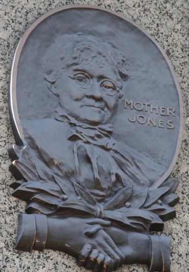 Mother Jones plaque