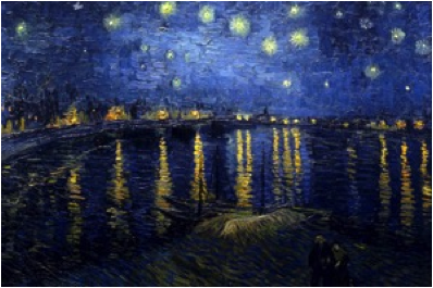 Description: Starry Night over the Rhone