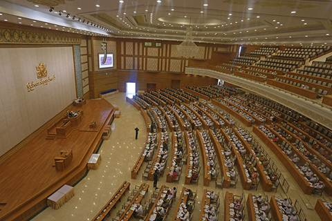 Myanmar's Lower House of Parliament