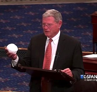 This proves that global warming is a hoax; this snowball is from hell.