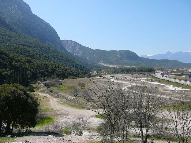 The Battlefield of Thermopylae