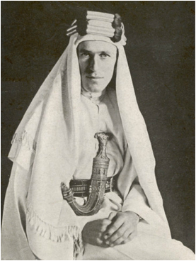 Description: With Lawrence in Arabia.jpg
